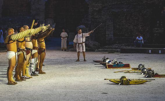 Gladijatorske borbe su bile potpuno besplatne za sve