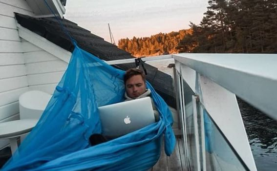 Hammock s mrežom za komarce - 8