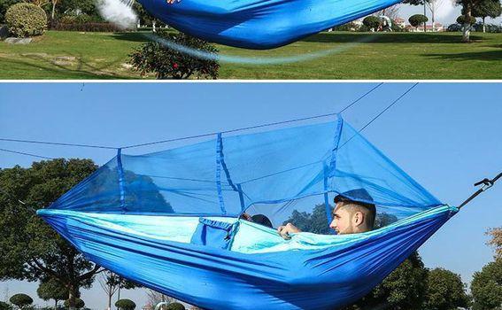 Hammock s mrežom za komarce - 9