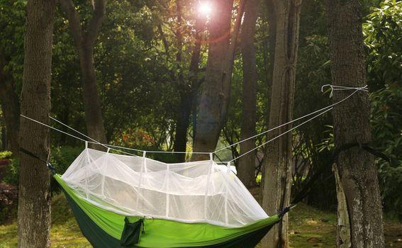 Hammock s mrežom za komarce - 10