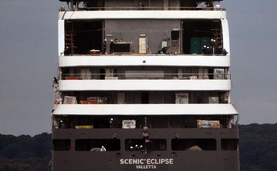Istraživačka jahta Scenic Eclipse koja je građena u Uljaniku - 2