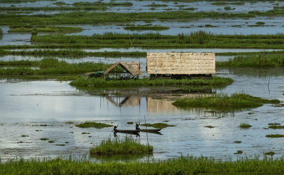 Jezero Loktak u Indiji - 2