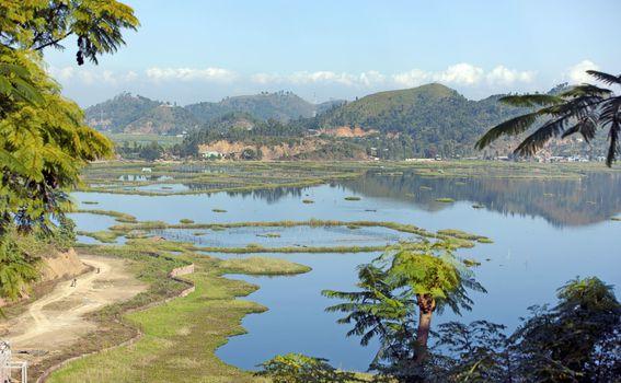 Jezero Loktak u Indiji - 3