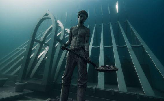 Morske skulpture, Meksiko - 2