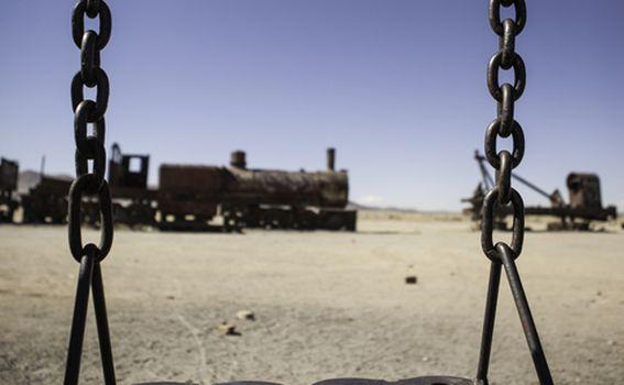 Groblje vlakova, Uyuni, Bolivija - 8