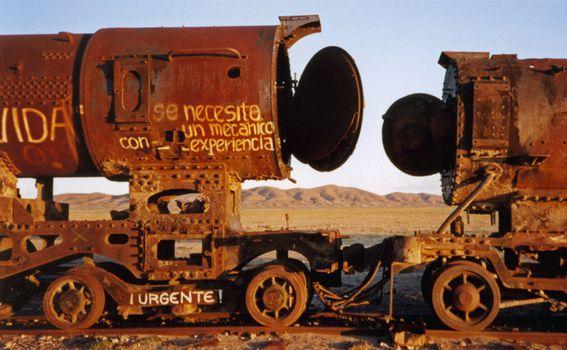 Groblje vlakova, Uyuni, Bolivija - 9