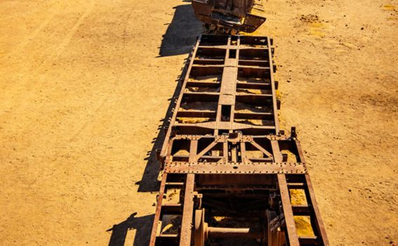 Groblje vlakova, Uyuni, Bolivija - 11