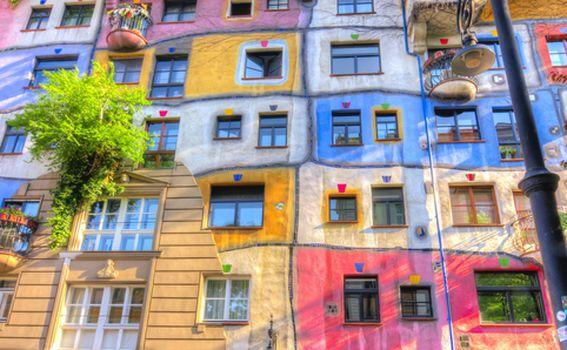 Hundertwasserhaus, Beč - 2