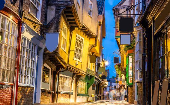 Shambles ulica, York, Engleska - 6