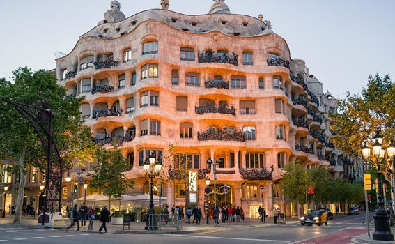 Casa Mila, Barcelona - 2