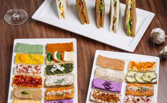 Otvoreni sendviči od ukusnih sastojaka
