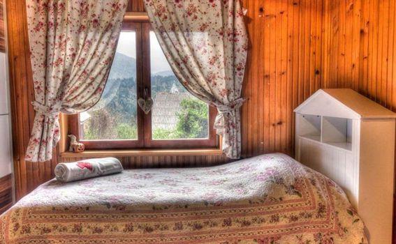 Pogled iz planinske kuće