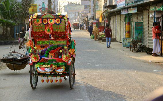 Promet u Bangladešu poprilično je kaotičan