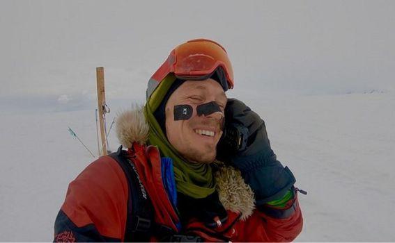 Amerikanac Collin O\'Brady prvi je čovjek koji je samostalno prehodao Antarktiku (Foto: AFP) - 1