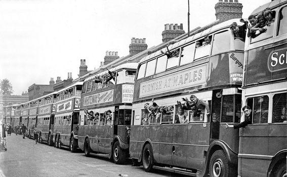 Dvokatni autobusi šezdesetih godina prošlog stoljeća
