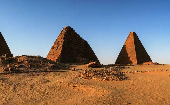 Sudanske piramide - 2
