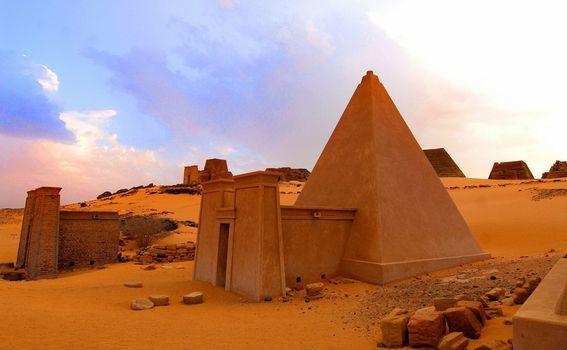 Sudanske piramide - 3