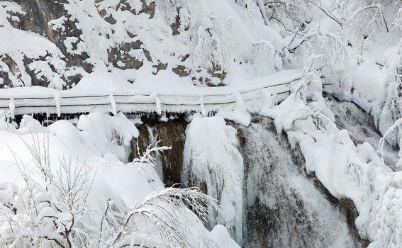 Plitvička jezera pod snijegom - 10
