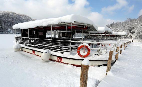 Plitvička jezera pod snijegom - 11