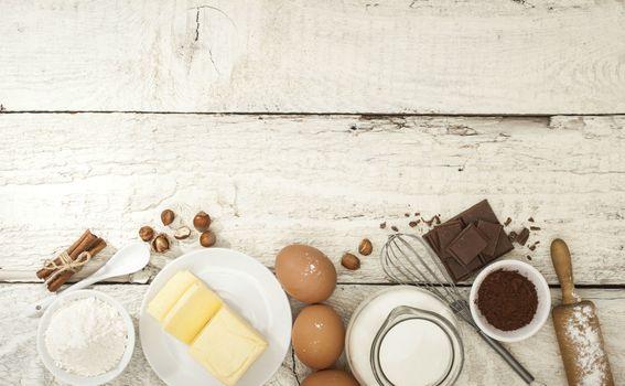 Jaja i brašno