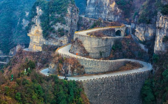 Tianmen Mountain Road, Kina - 3