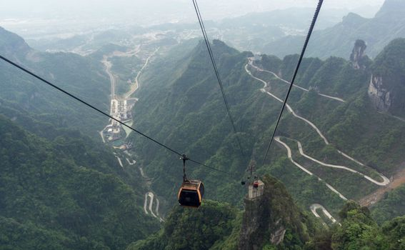 Tianmen Mountain Road, Kina - 4