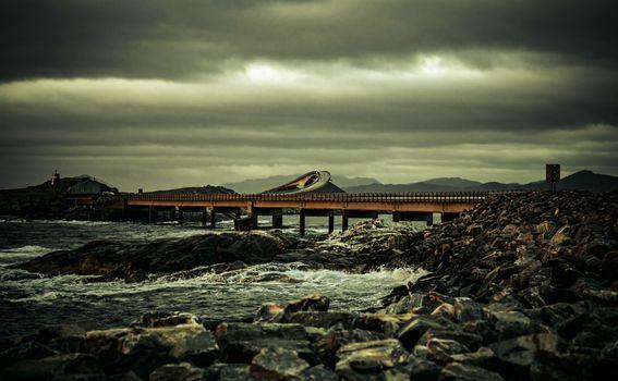 Atlanterhavsveien, Atlantska cesta, Norveška - 3