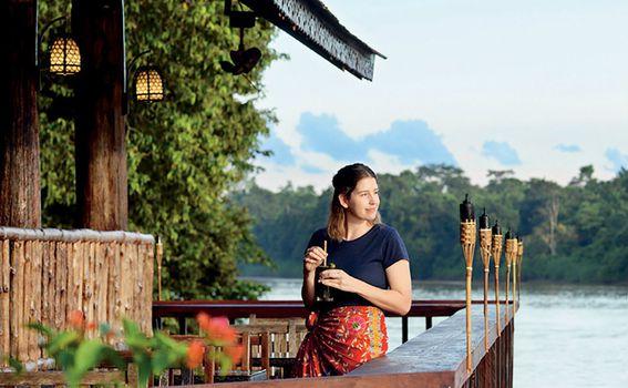 Sukau Rainforest Lodge,Malezija