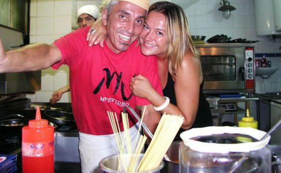 Marco Sasso sa suprugom