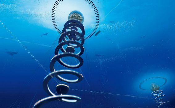 Podvodni plutajući grad - 1