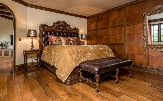 Spavaća soba sa srednjevjekovnim štihom