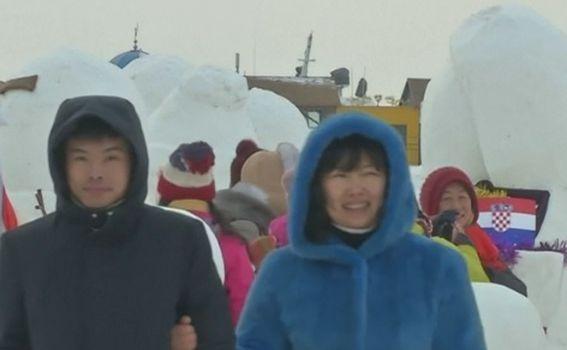 U kineskom gradu Harbinu otvoren festival leda i snijega (Foto: Vijesti u 14h) - 1
