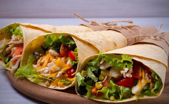 Burrito, tortilja