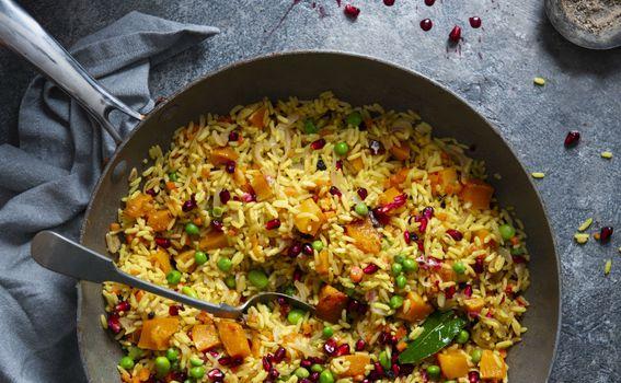 Rižoto s povrćem i kurkumom