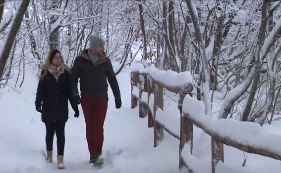 Snijeg na Plitvičkim jezerima - 1