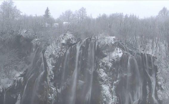 Snijeg na Plitvičkim jezerima - 2