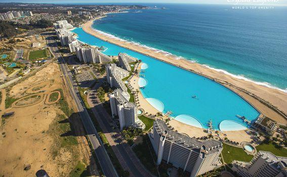 Drugi najveći bazen na svijetu ima vodu tirkizne boje