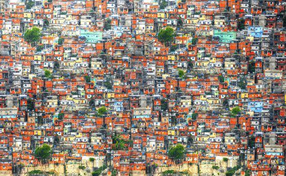 Favele u Rio de Janeiru