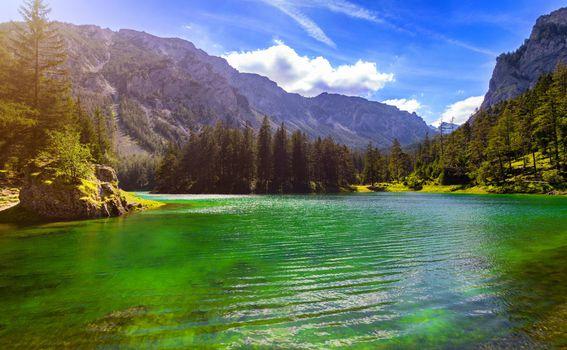 Zeleno jezero u Austriji - 1