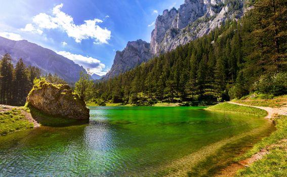 Zeleno jezero u Austriji - 3