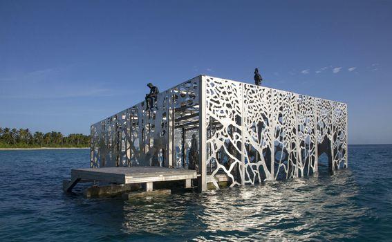 Podvodna galerija na Maldivima - 12