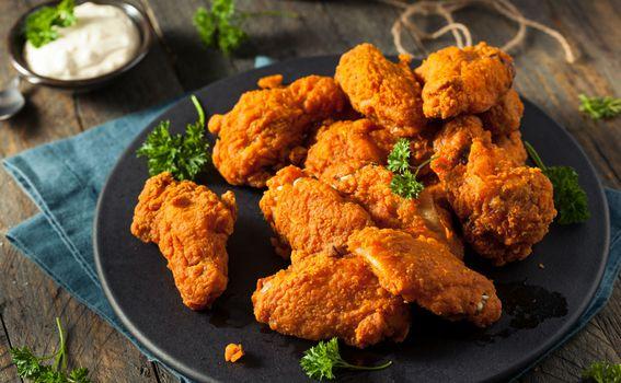 Pečena piletina, ilustracija