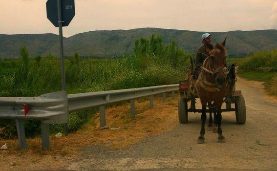 Albanija - Zaprežna kola