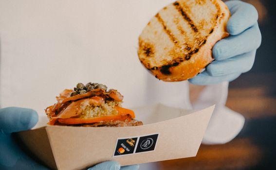 Mastercard burger