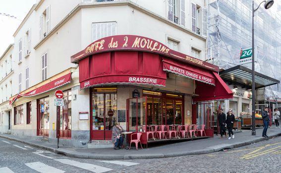 Caffe des 2 Moulins, Pariz
