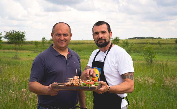 Vladimir Sesar i David Skoko na Gospodarstvu Sesar