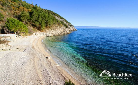 Plaža Uboka, Mošćenička Draga
