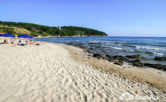 Plaža Vela Pržina, Korčula