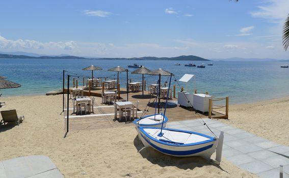 Restoran na plaži Eagles Palace Resorta