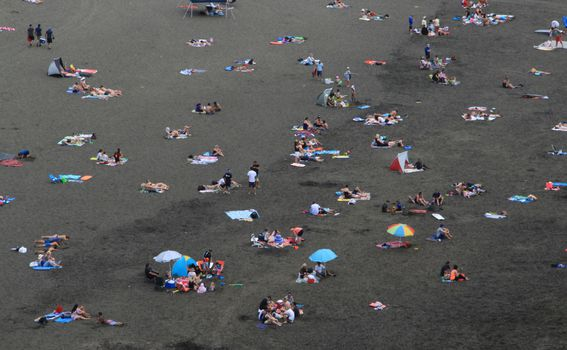Plaža crnog pijeska